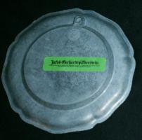Foto 2 Kleiner Zinnteller  -  Wappenteller