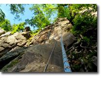 Foto 2 Klettern als Kletterkurs am Fels im Albtal - Natursport wie er sein soll