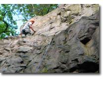 Foto 3 Klettern als Kletterkurs am Fels im Albtal - Natursport wie er sein soll