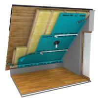 knauf klemmfilz 3 84m in 200mm zwischensparrend mmung in wuppertal. Black Bedroom Furniture Sets. Home Design Ideas