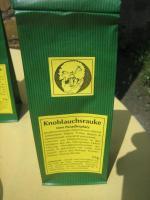 Foto 3 Knoblauchsrauke gemahlen; ganzjähriger lecker Knoblauchs-Geschmack; Naturkost vom Paradiesplatz