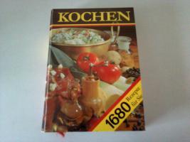 Kochbuch mit 1680 Rezepten