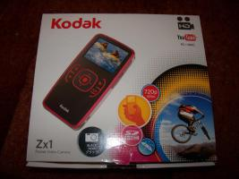 Kodak Zx1 Camcorder, Pocket Videokamera, OVP