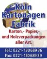 Köln Bücherkarton Neu!!! 50 Stück Top Preis!!