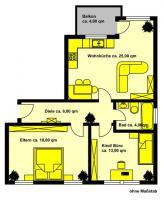Foto 4 Köln-Godorf 3 Zimmer-Wohnung