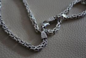 Königskette Echsilber Kette 925
