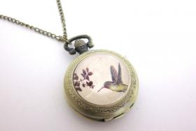 Kolibri Kettenuhr