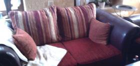Kolonial Sofa..3,5er, 2er, 1er u Hocker 1,5 Jahr alt !