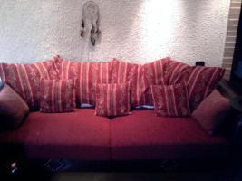 Foto 2 Kolonial Sofa..3,5er, 2er, 1er u Hocker 1,5 Jahr alt !