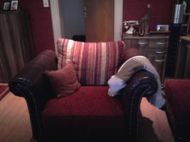 Foto 3 Kolonial Sofa..3,5er, 2er, 1er u Hocker 1,5 Jahr alt !