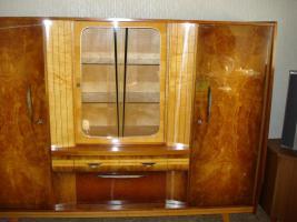 Foto 3 Kombinierter Wohnschrank aus den 60er