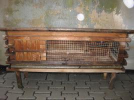 Foto 2 Komfortabler Hasenstall für Draußen