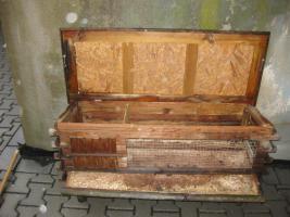 komfortabler hasenstall f r drau en in bad endbach von. Black Bedroom Furniture Sets. Home Design Ideas