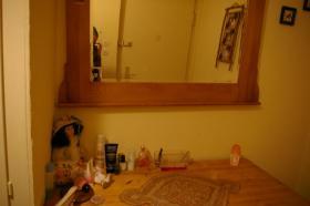 Kommode mit Spiegel (Antik)