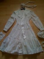 Kommunionkleid mit viel Zubehör!!! Einmal getragen, Größe 140 TOP