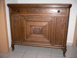 Foto 6 Komode, Vitrine, Tisch und Stühle