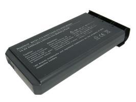 Kompatibler Ersatzakku für Dell Inspiron 1200, 14.8V, 4400mAh, Li-ion Laptop Akku