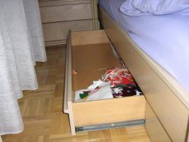 Foto 4 Kompl./gepflegtes Schlafzimmer Eiche Opal abzugeben