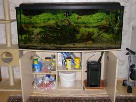Foto 2 Komplett Aquarium 405l