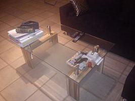 Komplett oder einzeln: Neue und schöne Wohnwand, Coach und/ oder Coachtisch