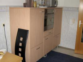 Foto 3 Komplette Einbauküche (Jan Kolbe) inkl. E-Geräte Kirschkern/Granit/Edelstahl