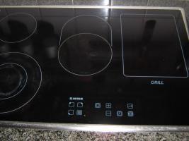 Foto 6 Komplette Einbauküche (Jan Kolbe) inkl. E-Geräte Kirschkern/Granit/Edelstahl