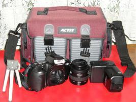 Komplette Fotoausrüstung