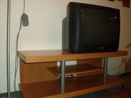Foto 3 Komplette hochwertige Zimmereinrichtung (10 Teile inkl. Fernseher) in TOP Zustand
