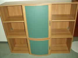 Foto 4 Komplette hochwertige Zimmereinrichtung (10 Teile inkl. Fernseher) in TOP Zustand