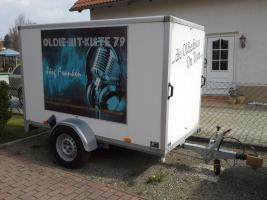 komplette mobile dj anlage mit pkw anh nger von privat. Black Bedroom Furniture Sets. Home Design Ideas