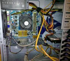 Foto 3 Kompletter Gamer PC mit TFT + Tastatur + Maus / Bundle