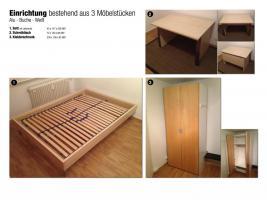 Komplettes Jugendzimmer - Modern, gut gepflegt und super Preis-Leistungs-Verhältnis!