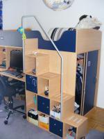 komplettes kinderzimmer best aus hochbett schreibtisch. Black Bedroom Furniture Sets. Home Design Ideas