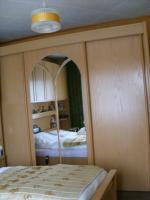 Foto 3 Komplettes Schlafzimmer (Bett, Schrank, Nachttische, Oberschränke) zu verkaufen!