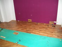 Foto 2 Komplettes Schlafzimmer + 14 m² Laminat, 6x LED Spo´ts+2x Matratzen+2xRöste+Schrank+usw....!!!!