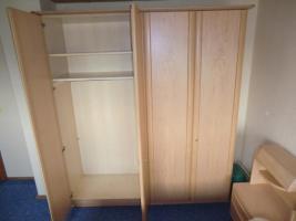 Komplettes Schlafzimmer  (Bett, Matratze, Lattenrost, Schrank)
