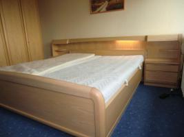 Foto 3 Komplettes Schlafzimmer  (Bett, Matratze, Lattenrost, Schrank)