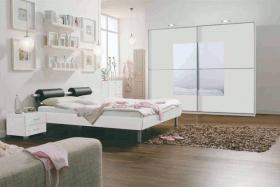 Komplettes Schlafzimmer, Kleiderschrank, Gala Bett, Kommode, Schuhschrank