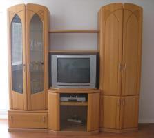 Foto 2 Komplettes Wohnzimmer mit Fernseher und DVD-Player