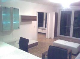 Foto 3 Komplettes Wohnzimmer, Wohnwand, Esstisch, TV Tisch, Ledercouch, Regal