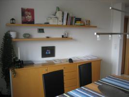 Foto 2 Komplettes modernes Esszimmer aus Buche massiv