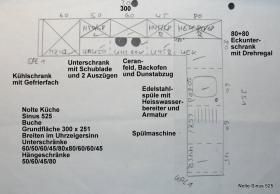 Foto 6 Komplettküche Nolte Sinus 525 Buche in gutem Zustand