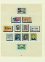 Komplettsammlung Deutschland 1980 - 1993, postfrisch