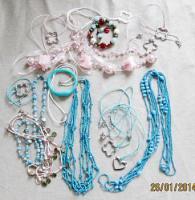 Konvolut NEU Set Schmuck Ketten, Armband. NEU & unbenutzt Modeschmuck 10 Stück