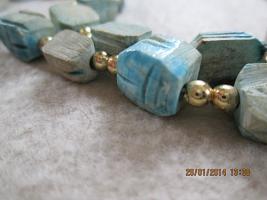 Foto 4 Konvolut Set Schmuck Ketten, Uhr, . NEU & unbenutzt Modeschmuck 6 Stück türkis / blau