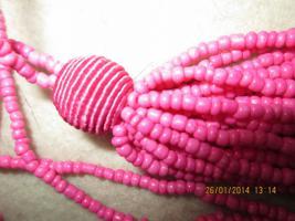 Foto 5 Konvolut Set Schmuck Ketten, Uhr, . NEU & unbenutzt Modeschmuck 9 Stück pink