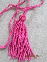 Foto 6 Konvolut Set Schmuck Ketten, Uhr, . NEU & unbenutzt Modeschmuck 9 Stück pink