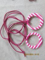 Foto 9 Konvolut Set Schmuck Ketten, Uhr, . NEU & unbenutzt Modeschmuck 9 Stück pink