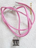 Foto 11 Konvolut Set Schmuck Ketten, Uhr, . NEU & unbenutzt Modeschmuck 9 Stück pink