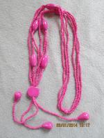 Foto 16 Konvolut Set Schmuck Ketten, Uhr, . NEU & unbenutzt Modeschmuck 9 Stück pink